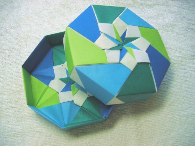 ハート 折り紙 折り紙 八角箱 折り方 : pej-lady.org